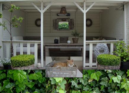 Inrichting voor veranda images about overkapping tuin ideeen on pinterest verandas - Stijl des maisons ...