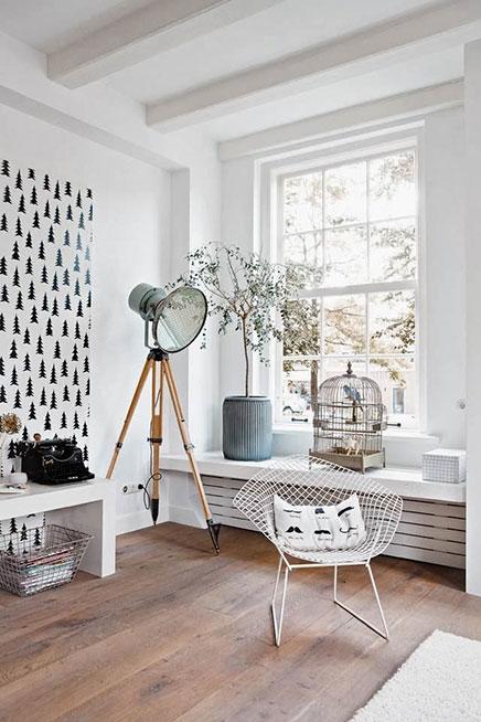 Woninginrichting van interieurstyliste Kim van Rossenberg