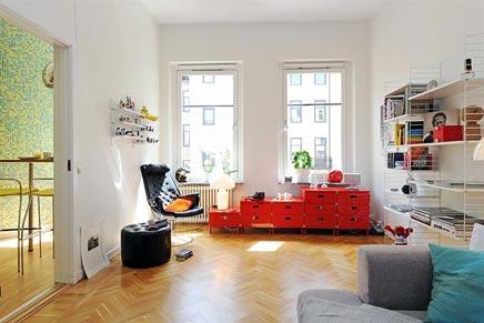Finse Serene Woonkamer : Woninginrichting met opvallende leuke details inrichting huis.com