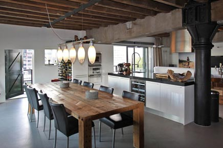 Woninginrichting aan lloydstraat 38d rotterdam inrichting - Open keuken met kookeiland ...