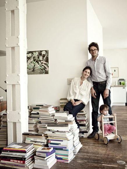 Woninginrichting loft Fatti & Pierre