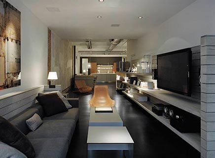 Woninginrichting loft New York SoHo