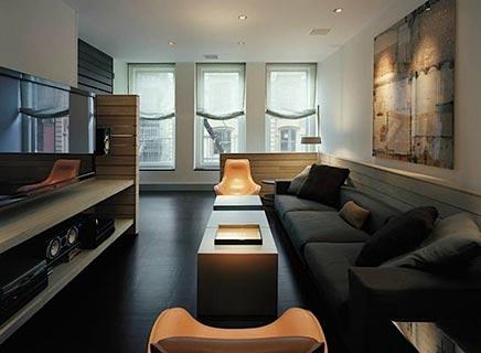 Interior design loft new york soho inrichting for Soho interior design ideas