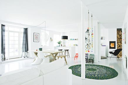 Woninginrichting van stylist Louise Kamman Riising