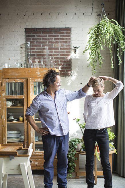 Woon studio combinatie van Maurice en Liesbeth