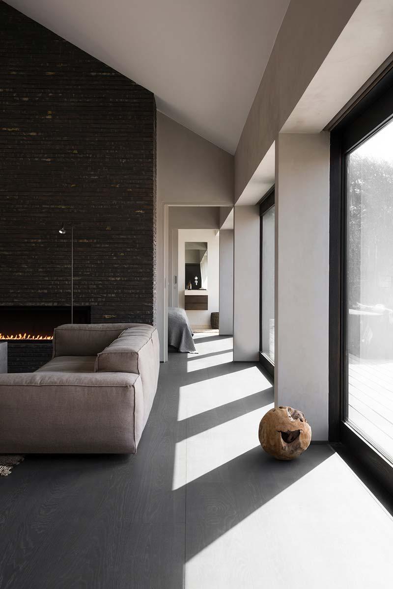 woonkamer aardetinten