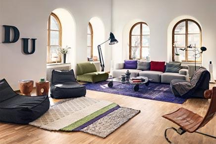 Kelim Vloerkleed In Huis: Louis de poortere vintage kelim tapijt ...