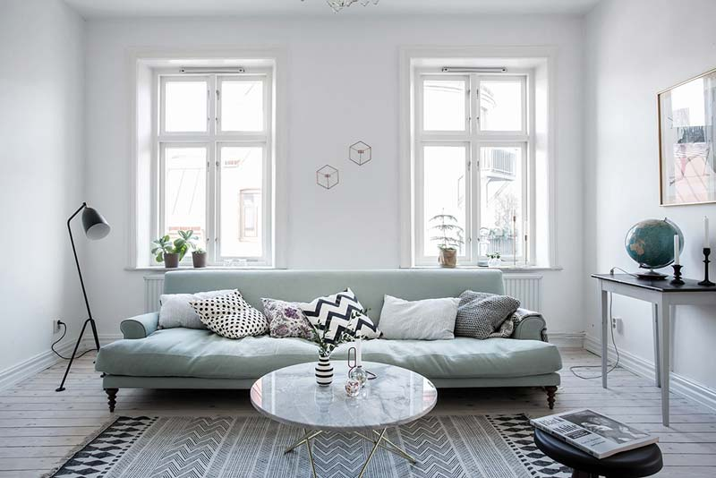 woonkamer ideeën bank voor raam