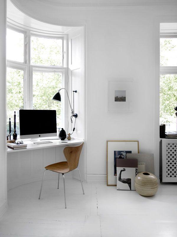 woonkamer ideeën erker werkplek