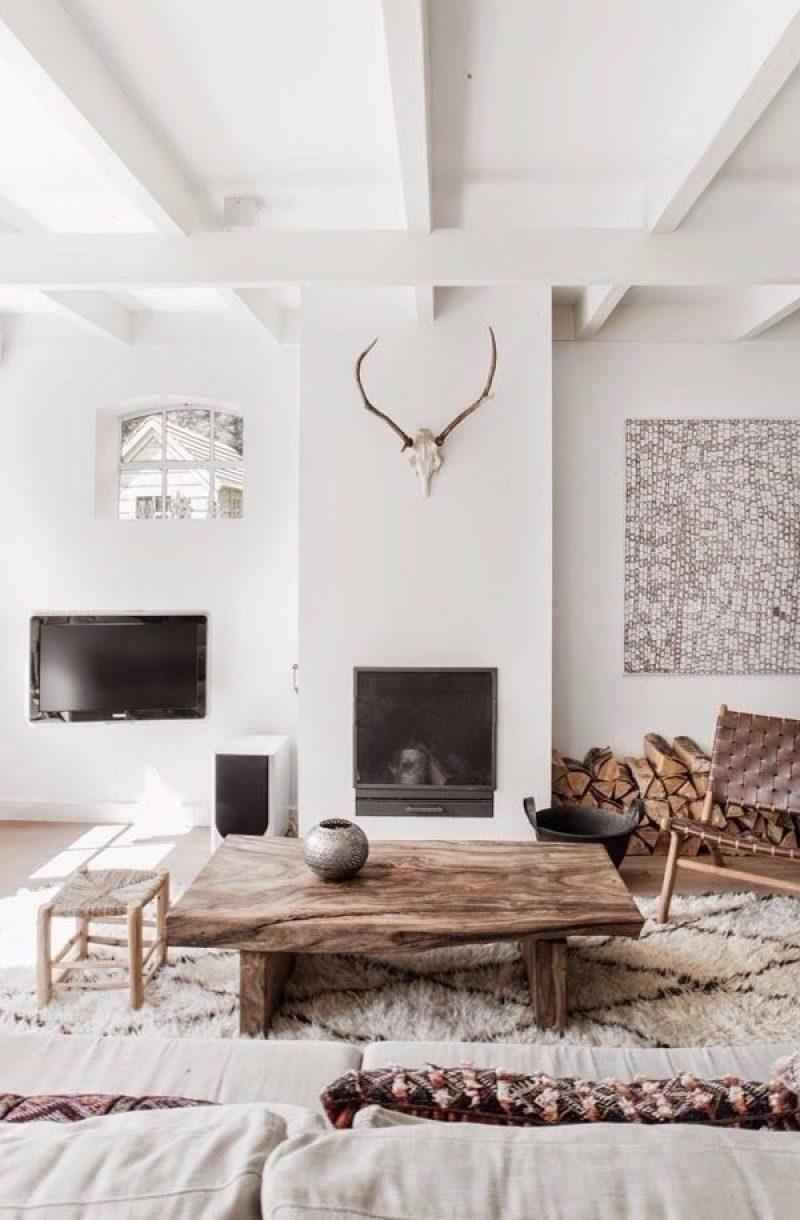 woonkamer ideeën tv combineren met open haard