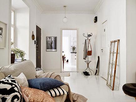 Woonkamer inrichting met vintage zithoek inrichting for Vintage woonkamer