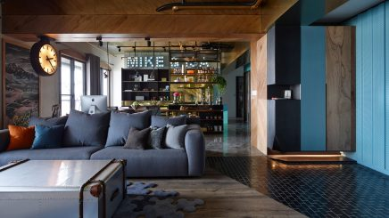 Woonkamer inspiratie van Mike & Isa | Inrichting-huis.com