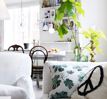 Woonkamer van interieur ontwerpster Nanna Lagerman