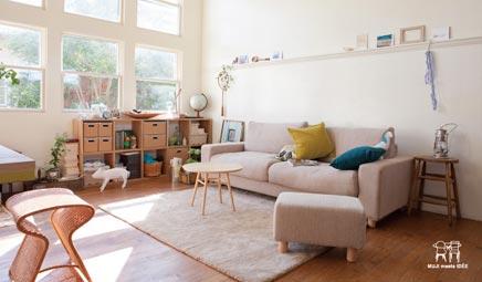 Finse Serene Woonkamer : Woonkamer van muji inrichting huis.com