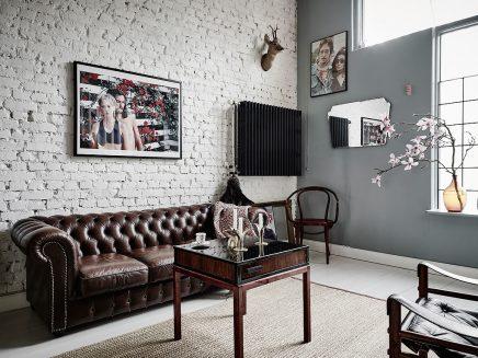 Scandinavische Vintage Woonkamer : Woonkamer stijlmix van scandinavisch en vintage inrichting huis.com