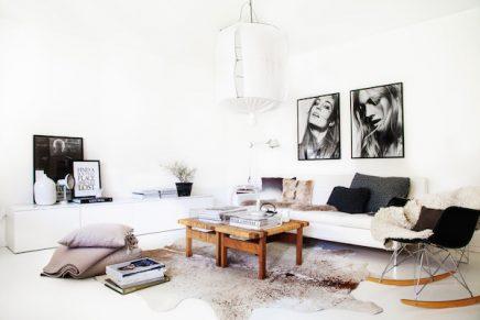 Woonkamer styling van stylist Pella Hedeby | Inrichting-huis.com