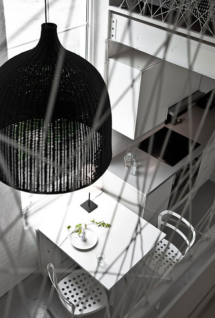 Woonkamer vakantiehuis van stylist Daniella Witte