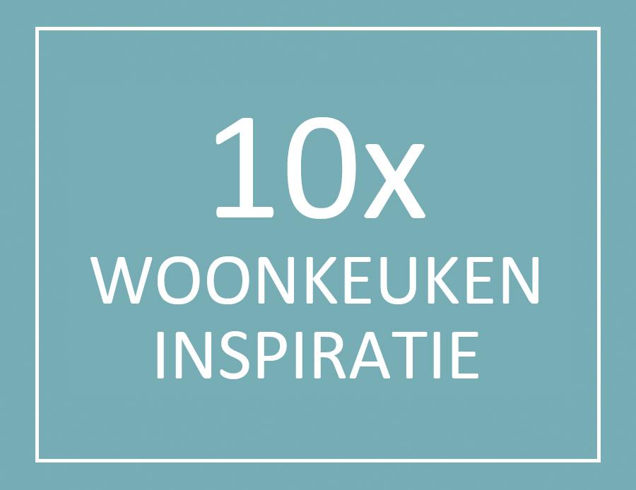 Woonkeuken inspiratie