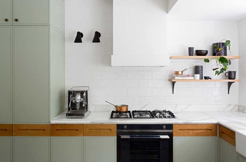 Woonkeuken met keukenbar