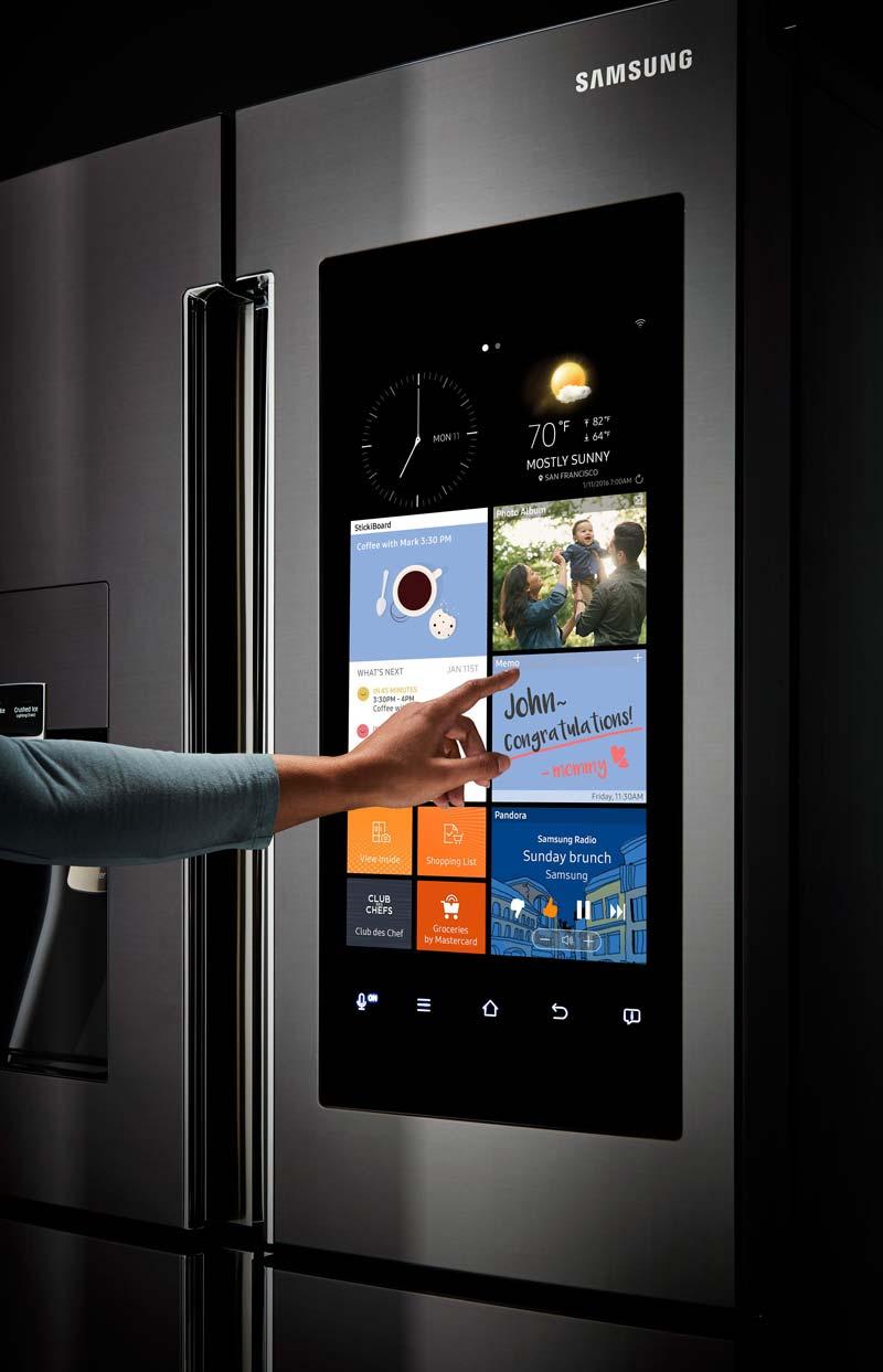 woontrends 2020 smart koelkast samsung