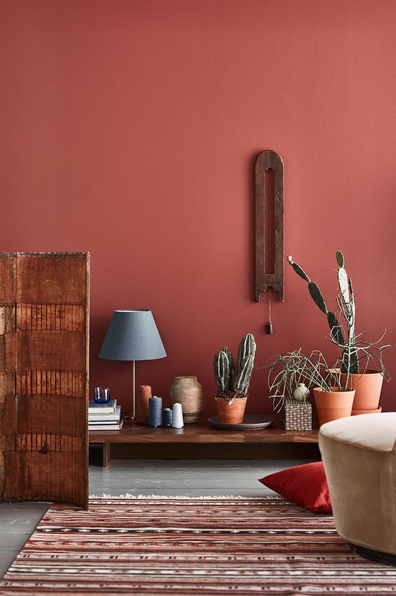 woontrends 2020 terracotta muren