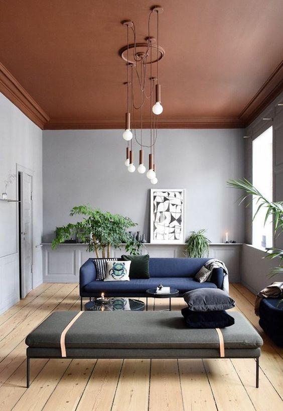 woontrends 2020 terracotta plafond