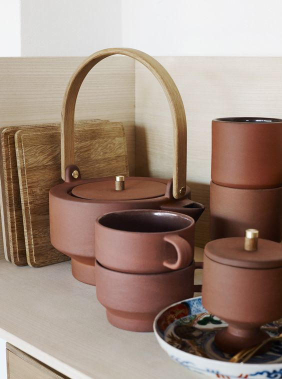 woontrends 2020 terracotta servies