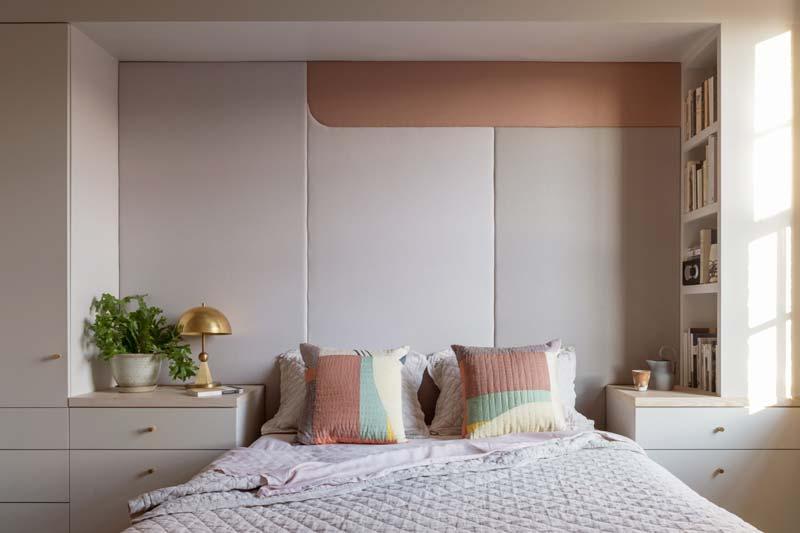 zachte slaapkamer kleuren