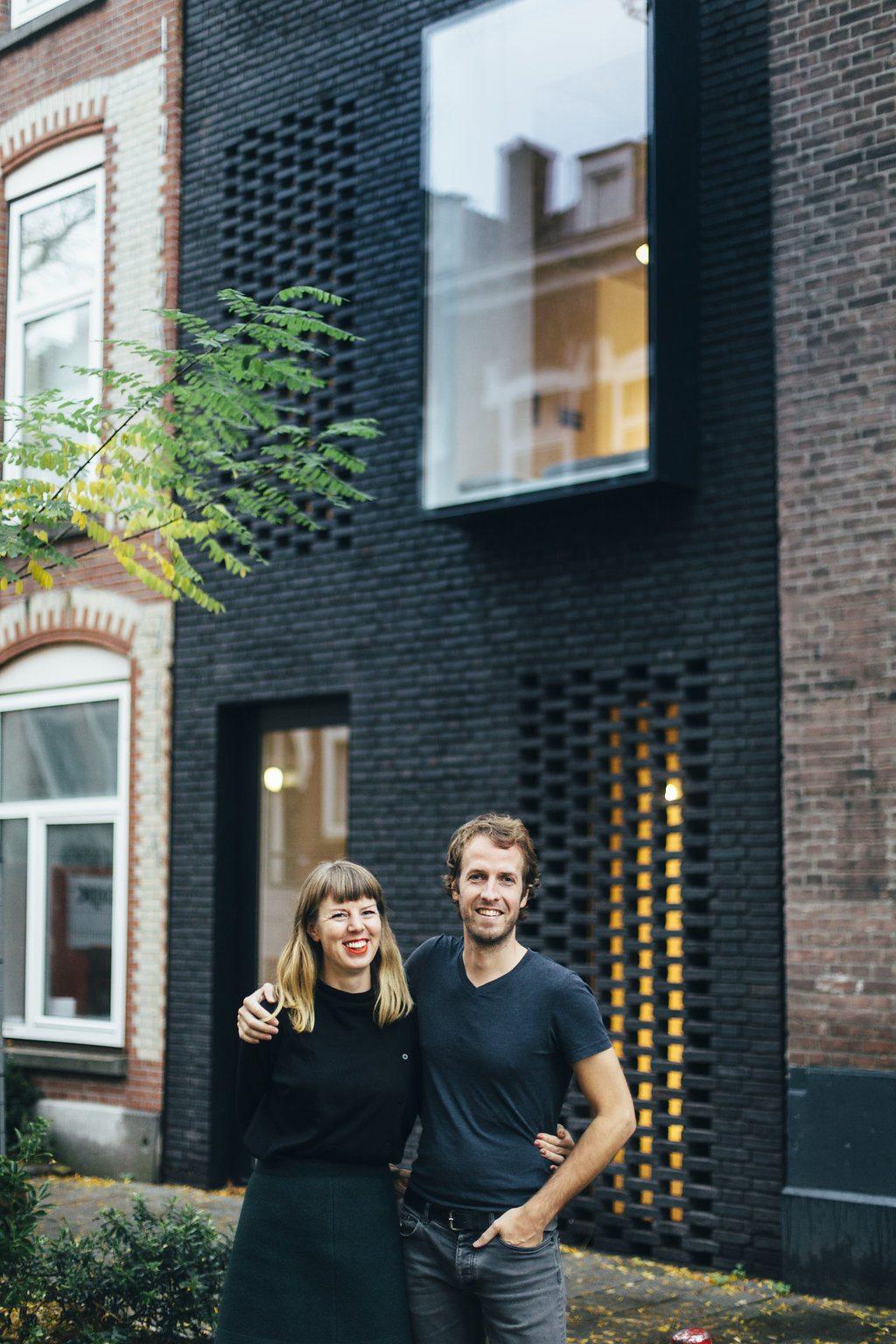 Zelfontworpen duurzaam huis van Gwendolyn Huisman en Marijn Boterman uit Rotterdam