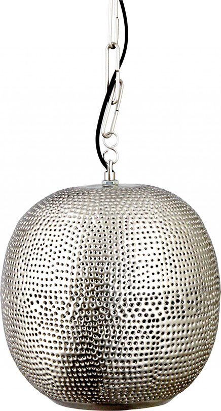 Zilveren Marokkaanse lampen