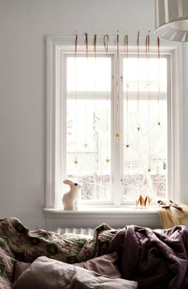 Kerst Scandinavisch interieur