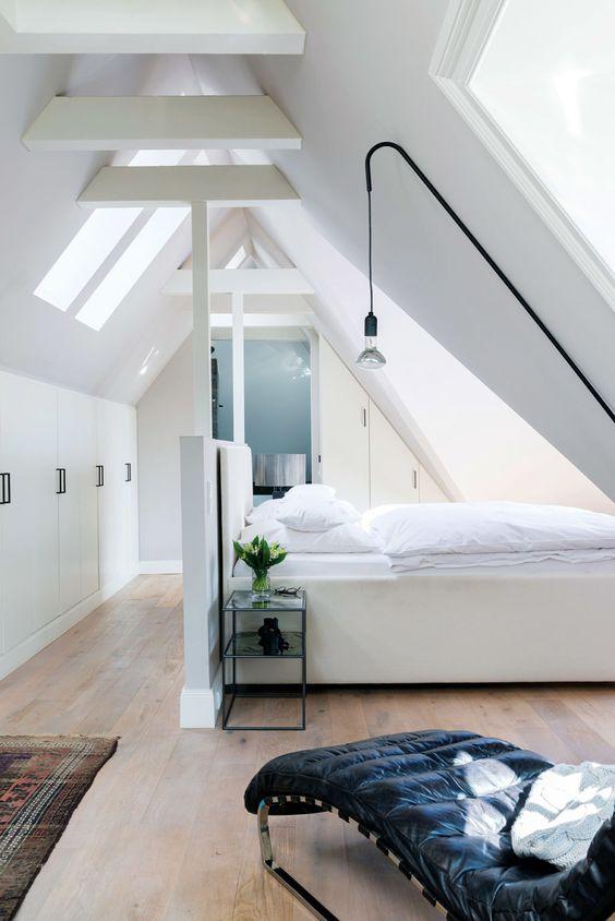 Zolder als slaapkamer