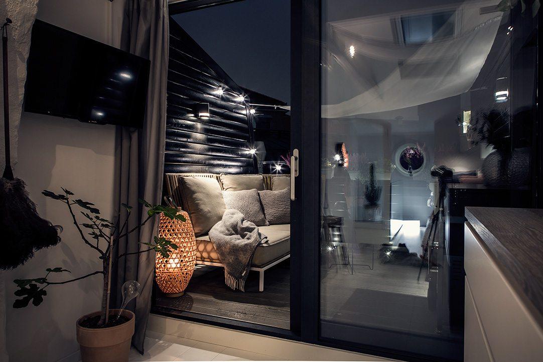 Inloopkast Op Zolder : Zolder slaapkamer met inloopkast en balkon terras inrichting