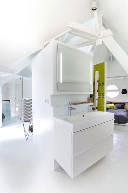 Zolder slaapkamer suite met badkamer  Inrichting-huis.com