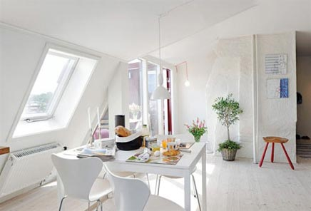Zomers Zweeds appartement