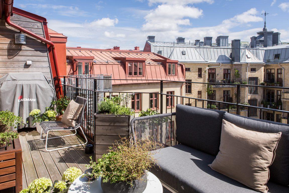 Zonnig ruim balkon terras van 10m2 inrichting huis.com