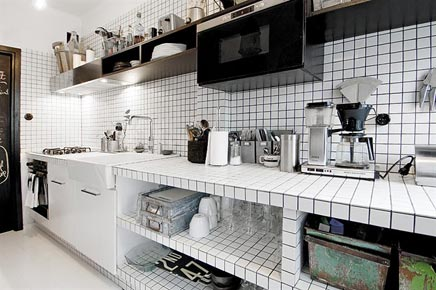 Zwart Witte Tegels : Zwart witte tegels keuken u artsmedia