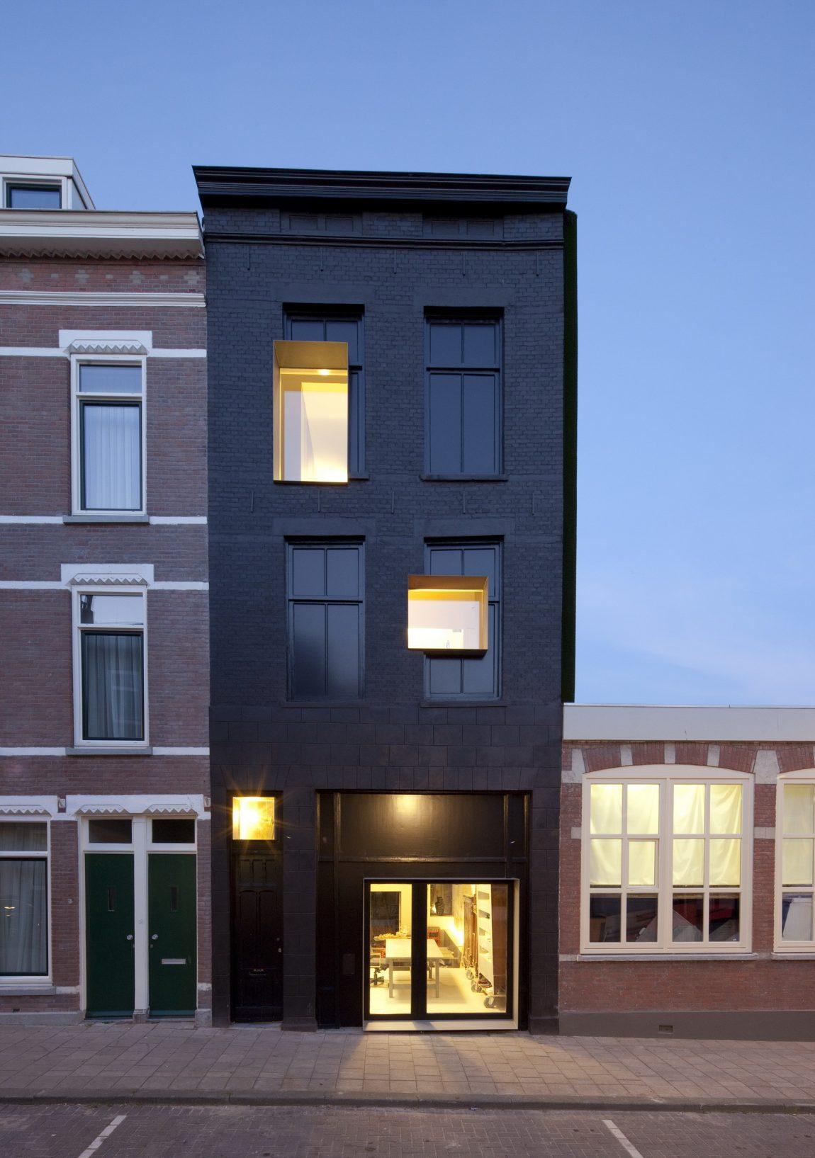 Zwarte gevel inrichting - Provencaalse huis gevel ...