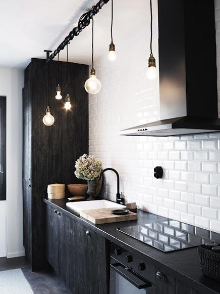Zwarte Keuken Ikea : Zwarte keuken van interieur ontwerper Ugland Inrichting-huis.com