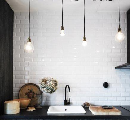Zwarte keuken van interieur ontwerper Ugland