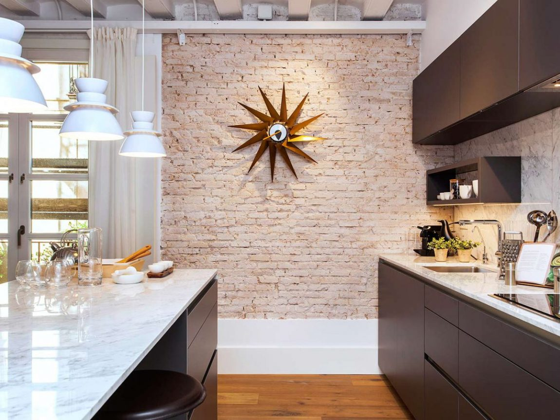 Marmer Zwart Keuken : Strakke moderne keuken in zwart wit u marquardt küchen