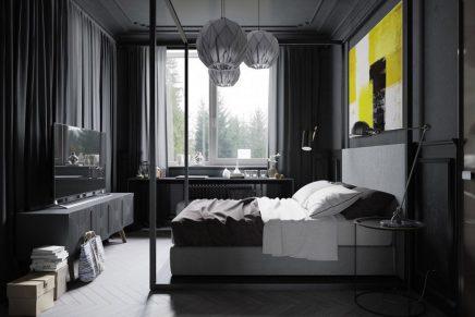 Zwarte Slaapkamer Ideeen : Zwarte slaapkamer voor de man inrichting huis