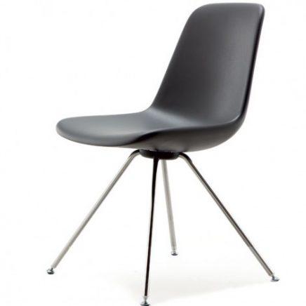 zwarte tonen step stoel