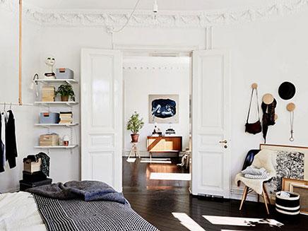 Scandinavische Slaapkamer Ideeen : Mooi en sfeervol ingerichte scandinavische slaapkamer slaapkamer