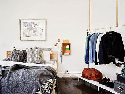 Zweedse slaapkamer ideeën