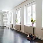 Zweedse woninginrichting met een mega dakterras