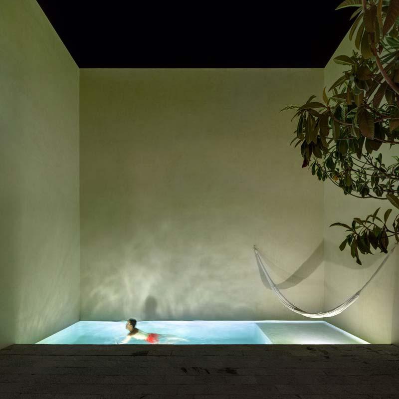 zwembad tuin luxe