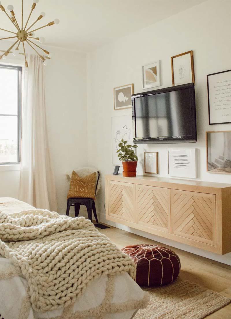 zwevende dressoir slaapkamer