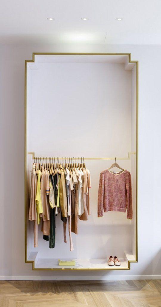 Zwevende kledingkast