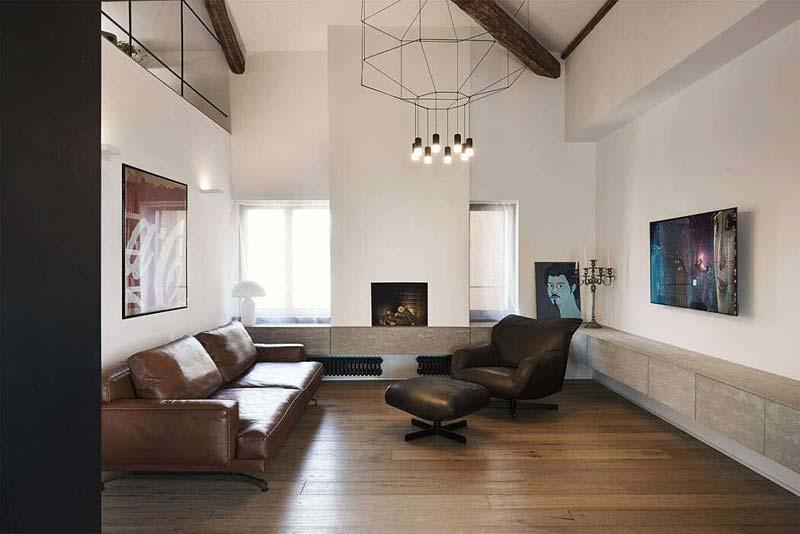 zwevende meubel woonkamer